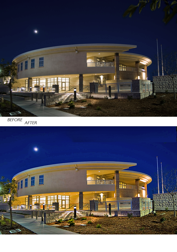 architecture digital photo retouch cropped modern building property image retouch