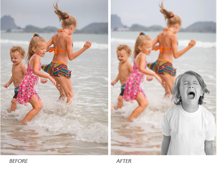 Photo retouch layer crop manipulate blend e-Book gwenn jones baybridgehub